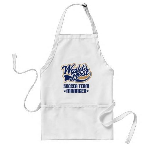 Soccer Team Manager Gift Aprons