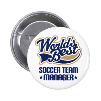 Soccer Team Manager Gift Pin
