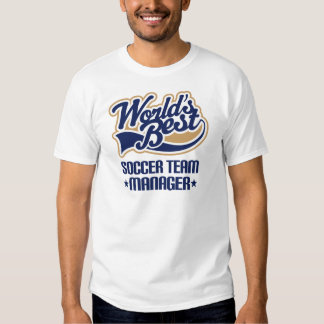 Soccer Team Manager Gift Tshirt