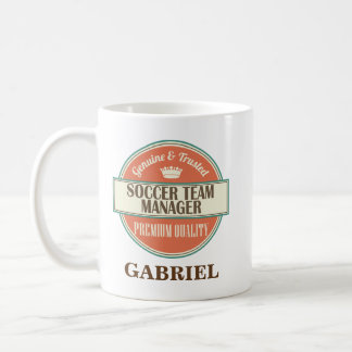 Soccer Team Manager Personalized Office Mug Gift