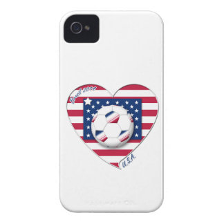 "Soccer Team ""U.S.A."" Soccer of the United States iPhone 4 Covers"
