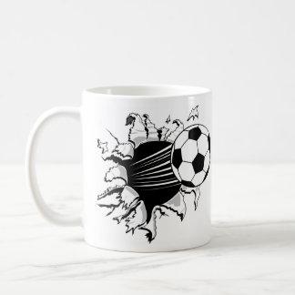 Soccer Tearout Coffee Mug