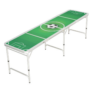 Soccer Theme. Beer Pong Table