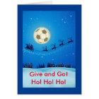 Soccer Theme Christmas Card