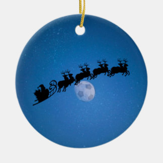 Soccer Theme Christmas Tree Ornament