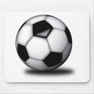 Soccer Themed Mouse Pad