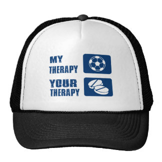 Soccer therapy designs cap