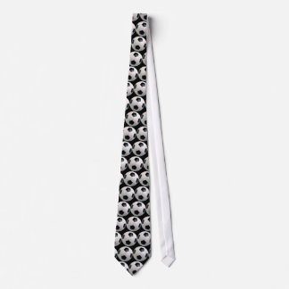Soccer Tie (Black Background)