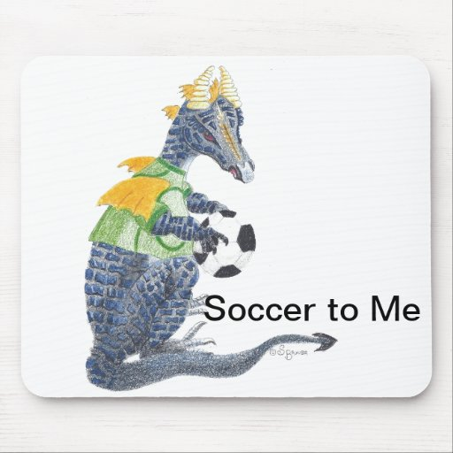 Soccer to Me Mousepad