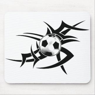 Soccer Tribal  Mousepad