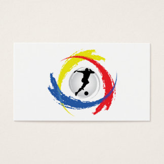 Soccer Tricolor Emblem