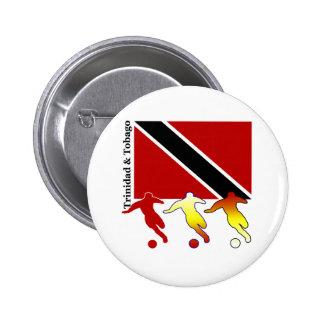 Soccer Trinidad Button