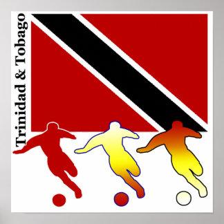 Soccer Trinidad & Tobago Poster