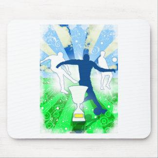 Soccer Trophy Mousepad