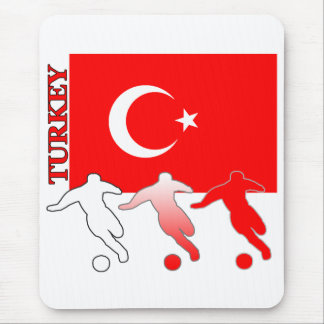 Soccer Turkey Mousepad