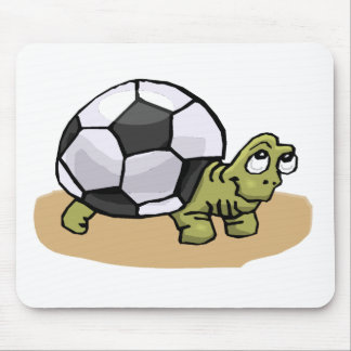 Soccer Turtle Mouse Pad