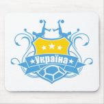 soccer UKRAINE Mousepad