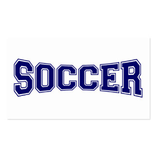 Soccer University Style Pack Of Standard Business Cards