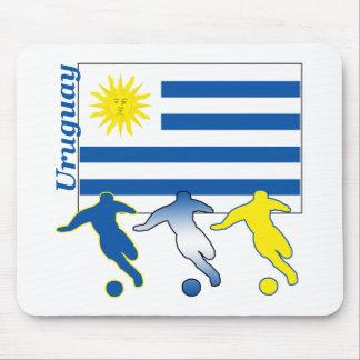 Soccer Uruguay Mouse Mat