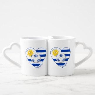 "Soccer ""URUGUAY"" National Uruguayan soccer team Lovers Mug Sets"