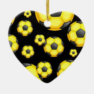 Soccer Wallpaper Christmas Ornament