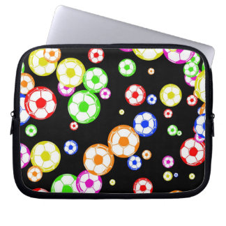 Soccer Wallpaper Laptop Sleeve