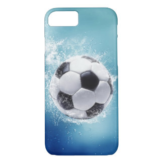 Soccer Water Splash Barely There iPhone 7 Case