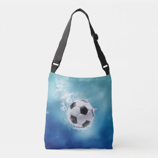 Soccer Water Splash Cross Body Bag
