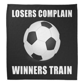 Soccer Winners Train Bandanna