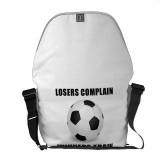 Soccer Winners Train Commuter Bags