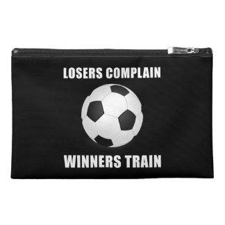 Soccer Winners Train Travel Accessory Bags