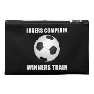 Soccer Winners Train Travel Accessory Bags