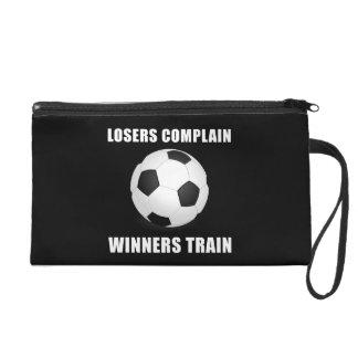 Soccer Winners Train Wristlet Purses