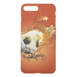 Soccer with fire iPhone 7 plus case