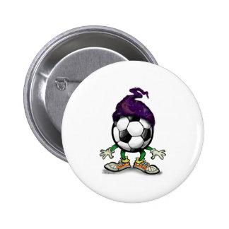Soccer Wizzard 6 Cm Round Badge