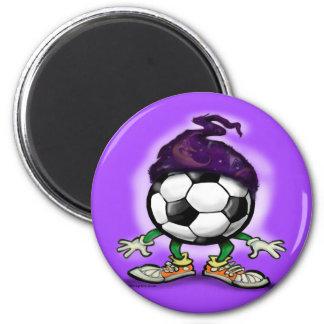 Soccer Wizzard Fridge Magnet