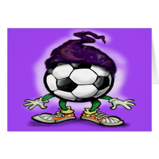 Soccer Wizzard Greeting Card