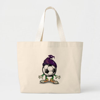 Soccer Wizzard Jumbo Tote Bag