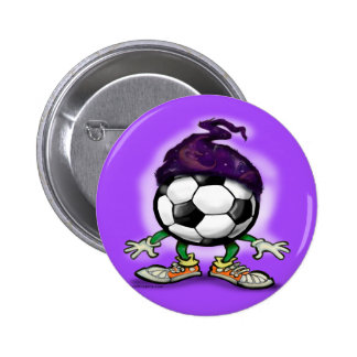 Soccer Wizzard Pins