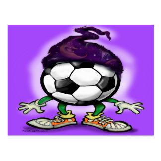 Soccer Wizzard Postcard