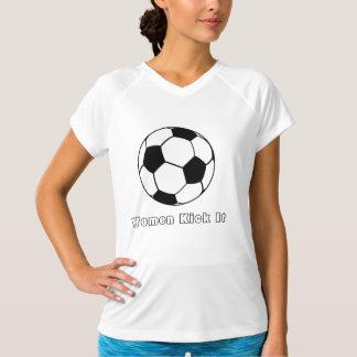 soccer, Women Kick It Tshirt
