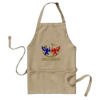 SOCCER WORLD CHAMPION LIONS ADULT APRON