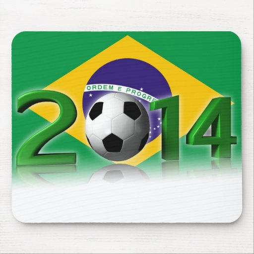 Soccer World Championship 2014 Mouse Pads