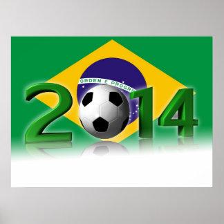 Soccer World Championship 2014 Poster