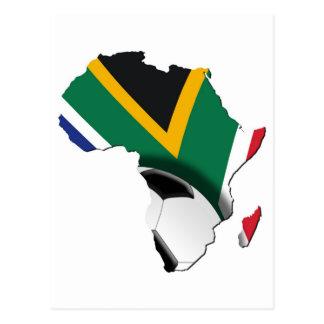 Soccer World Cup 2010 Postcard