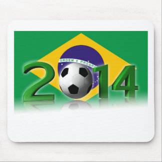Soccer World Cup 2014 Mouse Pad