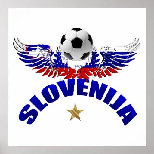 Soccer World Cup Brazil 2014 Futebol Slovenia Posters