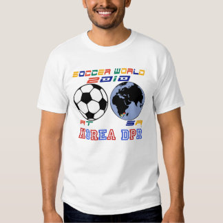 Soccer World-KOREA DPR T-shirt