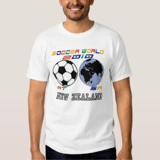 Soccer World-NEW ZEALAND T-shirts
