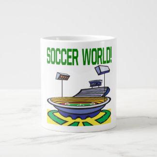 Soccer World Extra Large Mug